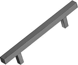 Italy Line - Puxador - 96mm - Alumínio - Polido - (IL 06) p/ móveis, armários e gavetas