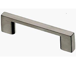 Italy Line - Puxador - 256mm - Aço Escovado - (IL 950) p/ móveis, armários e gavetas