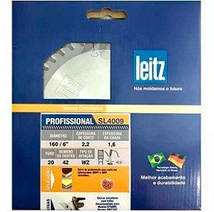 Leitz - Disco de Serra Circular - SL4900 - HW 160 x 2,2/1,6 x F20 - 42z - WZ, p/ MDF