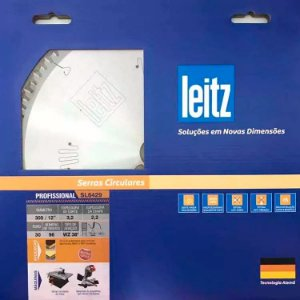 Leitz - Disco de Serra Circular - SL6429 - HW 300 x 3,2/2,2 x F30 - 96z - WZ, p/ MDF