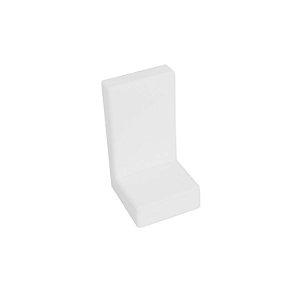 Criativa - Capa Plástica Branca p/ Cantoneira Reforçada - DV3060 (Unidade)