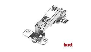 Hardt - Dobradiça de Caneco 35mm - S45/165 Slide On - Baixa (2 Furos)