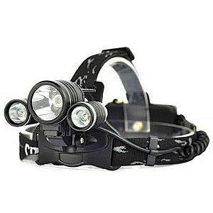 B-MAX - Lanterna Led de Cabeça/Bike Recarregável - BMAX 808