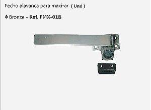 Perfil - Maxi-Ar - FMX-01B - Fecho Alavanca Cor Bronze