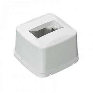 MEC-TRONIC - Caixa Sobrepor PETRA - 1 Módulo - 75 x 75 x 48 - (PETRA-87010)