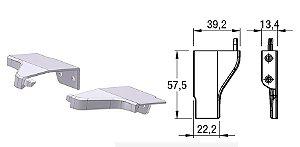Alternativa - Ponteira 12 Lat 18mm AREZZO Anodizado Par Direita e Esquerda
