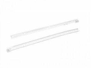 Bigfer - Corrediça Light 350mm (R) - Epóxi Branco