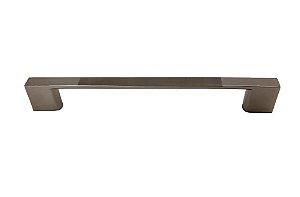 Criativa Maxima - Puxador p/ Móveis 1029 - 128mm - Zamac - Escovado/Cromado