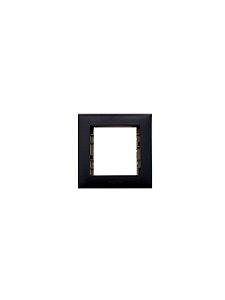 Legrand - PIAL Plus+ - Placa p/ Móvel - 2 Postos - Preto - 618520PT