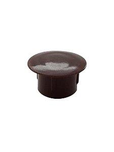 Hettich - Tapa Furo 12mm - Marrom