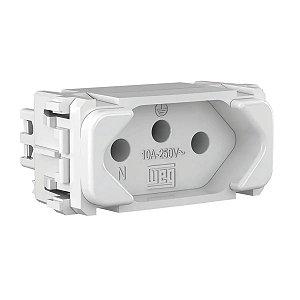 WEG - Composé - Módulo Tomada de Energia - 2P+T 10A/250V - Branco