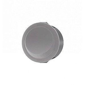WEG - Interruptor de Embutir Redondo - Simples - 12A/250VCA - Cinza