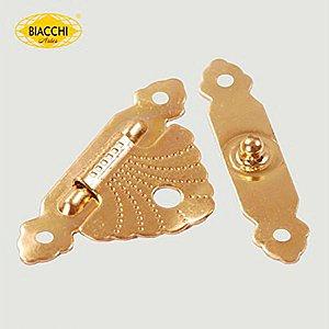 Biacchi - Fecho p/ Artesanato 5120 - Aço Latonado