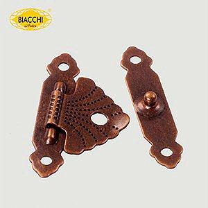 Biacchi - Fecho p/ Artesanato 5120 - Aço Ouro Velho