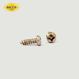 Biacchi - Parafuso Cabeça Panela - 6,5 x 2,20mm - Aço Niquelado
