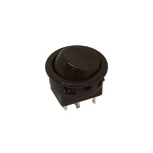 MARGIRIUS - Chave Interruptor p/ móveis 16101 - 6A Preto