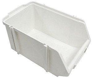SK Plásticos - Gaveta Plástica Bin N°.5 (12 x 15,5 x 25 cm) Branca