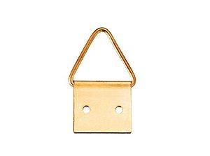 Bemfixa - Suporte Triângulo p/ Quadro - 1,4 x 1,4cm - Grande - Cartela c/ 4 unid.