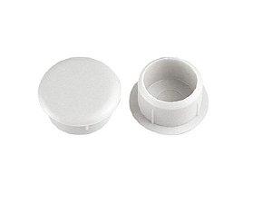 Bemfixa - Tapa Furo - 10mm - Branco - Cartela c/ 20 unid.