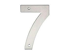 Bemfixa - Número Residencial em Inox - 7 - 145mm