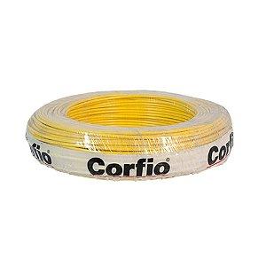 Corfio - Rolo Cabo Flexível 750V 02,50mm 100MT Amarelo - Antichama BWF  (ftz)