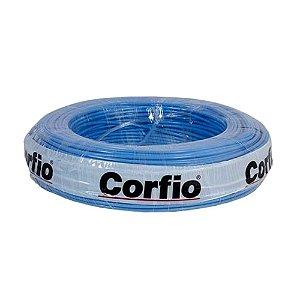 Corfio - Rolo Cabo Flexível 750V 02,50mm 100MT Azul - Antichama BWF  (ftz)
