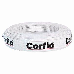 Corfio - Rolo Cabo Flexível 750V 04,00mm 100MT Branco - Antichama BWF  (ftz)