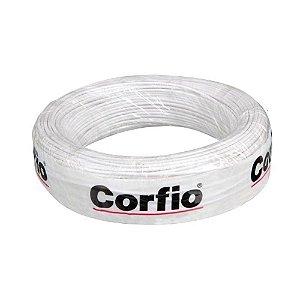 Corfio - Rolo Cabo Flexível 750V 02,50mm 100MT Branco - Antichama BWF  (ftz)