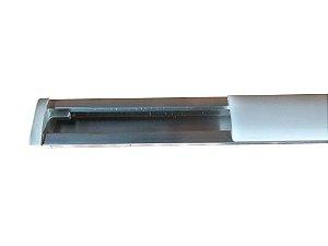 OMS - Perfil de Alumínio Slim (p/ fazer luminária fita LED) - 3 Metros - 55.000.01