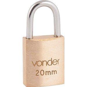 VONDER - Cadeado de Latão c/ 2 Chaves - 20mm