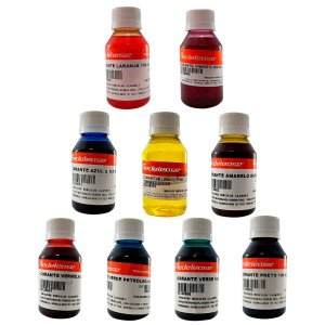 Redelease - Kit c/ 9 Corantes Translúcidos - (100ml)