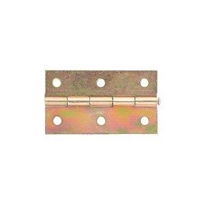 Alutec - Dobradiça p/ Móveis 2210 Pino Móvel - 2 1/2 Bicromatizado