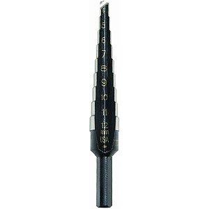 Irwin - Broca Escalonada para Chapa 82mm - Unibit #1M - 04 a 12mm