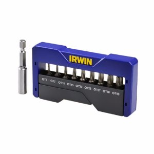Irwin - Jogo de Pontas Torx - Insert Bit - 10 Peças