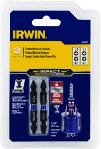 Irwin - Jogo Pontas Duplas PH + Colar Magnético - Linha Impact Bit