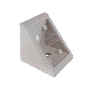 BIGFER - Cantoneira Plástica (R) - 20 x 20mm - Branco