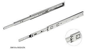 Hardt - Corrediça telescópica H35 25kg 25cm Zincada (Trilho) - B8010ZN