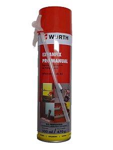 WURTH - Expanfix Pro Manual 500ml - Espuma Expansiva de Poliuretano