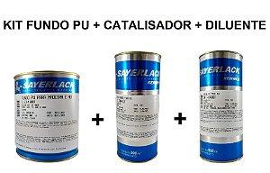 Sayerlack - Kit Fundo PU 6314 + Catalisador + Diluente - 900ml
