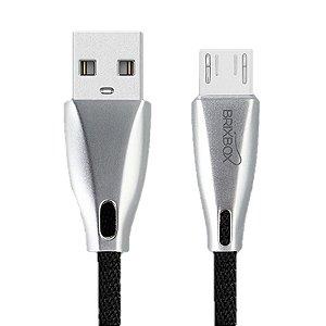 Brix Box - Black - Cabo Premium Micro USB V8 - LED