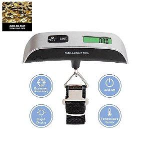 GOLDLINE - Balança Manual Digital - Até 50kg