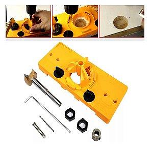 GOLDLINE - Kit Gabarito para Furações com Broca 35mm
