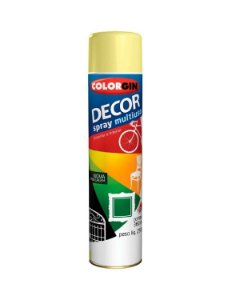 Colorgin - Tinta Spray Decor 360ml - Amendoa – 8811