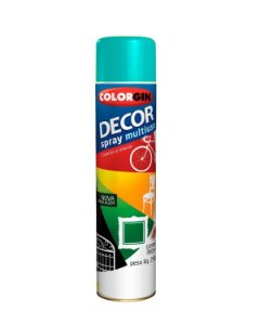 Colorgin - Tinta Spray Decor 360ml - Azul Céu - 8631