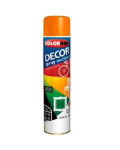 Colorgin - Tinta Spray Decor 360ml - Laranja - 8831