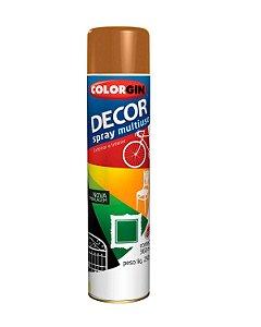 Colorgin - Tinta Spray Decor 360ml - Marrom Barro - 8671