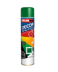Colorgin - Tinta Spray Decor 360ml - Verde Folha - 8751