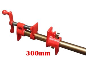 """JAB Tools - Grampo Pipe Clamp 3/4"""" com cano 0.300mm - SGT-002"""