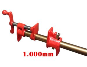 "JAB Tools - Grampo Pipe Clamp 3/4"" com cano 1.000mm - SGT-005"