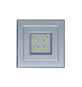 Lumitek - Luminária de Embutir - POP Flux-Volt - Branco Frio 6000K - Alumínio